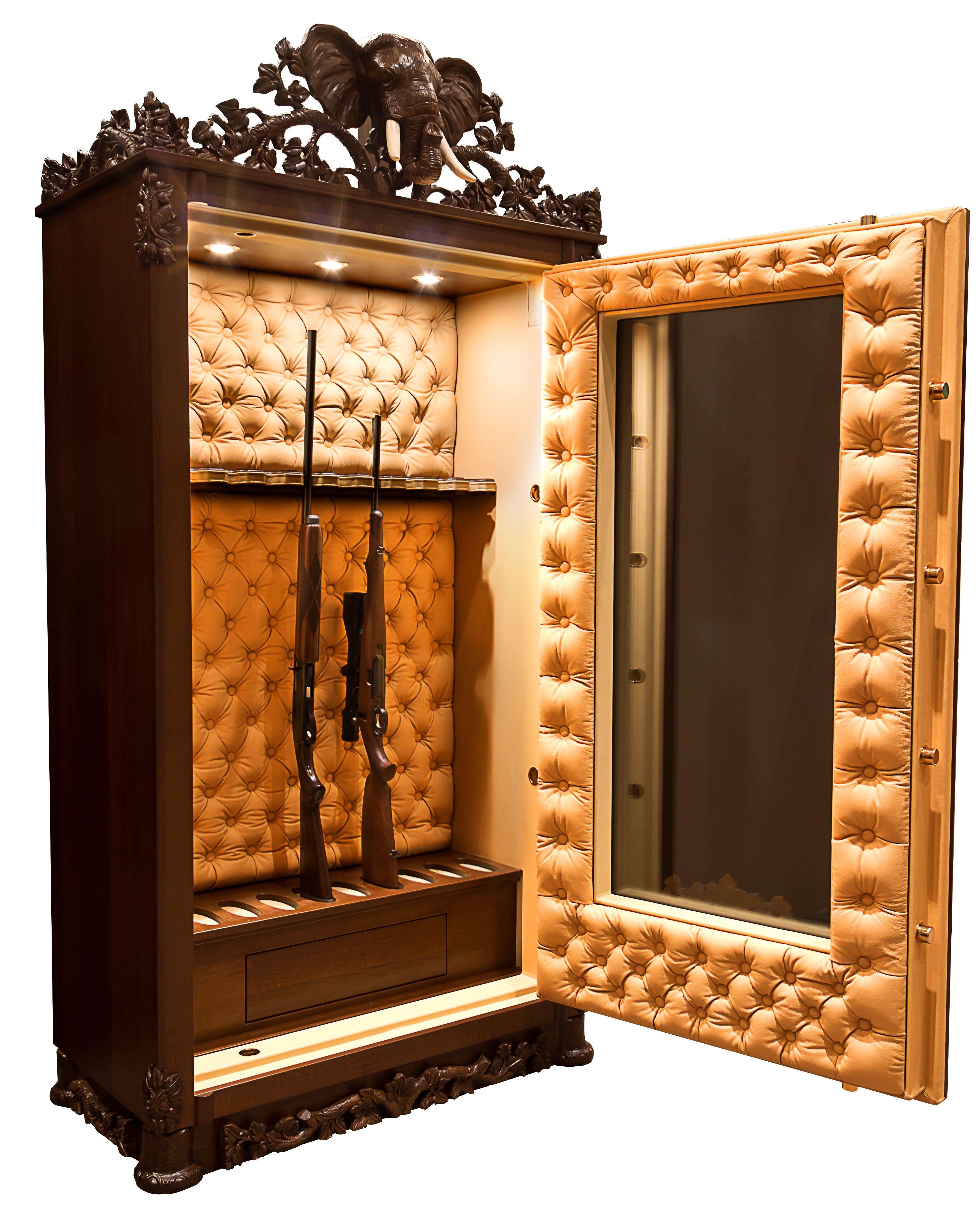 Luxusní zbraňové trezory Liktor