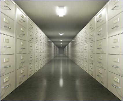 Archivační ocelové skříně